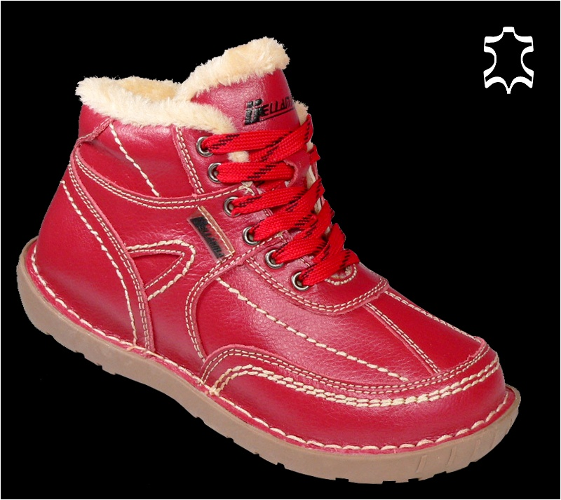 Leder-Winter-Schuhe-Outdoor-Boots-Damen-Stiefel-Winterstiefel-Scuo-D09