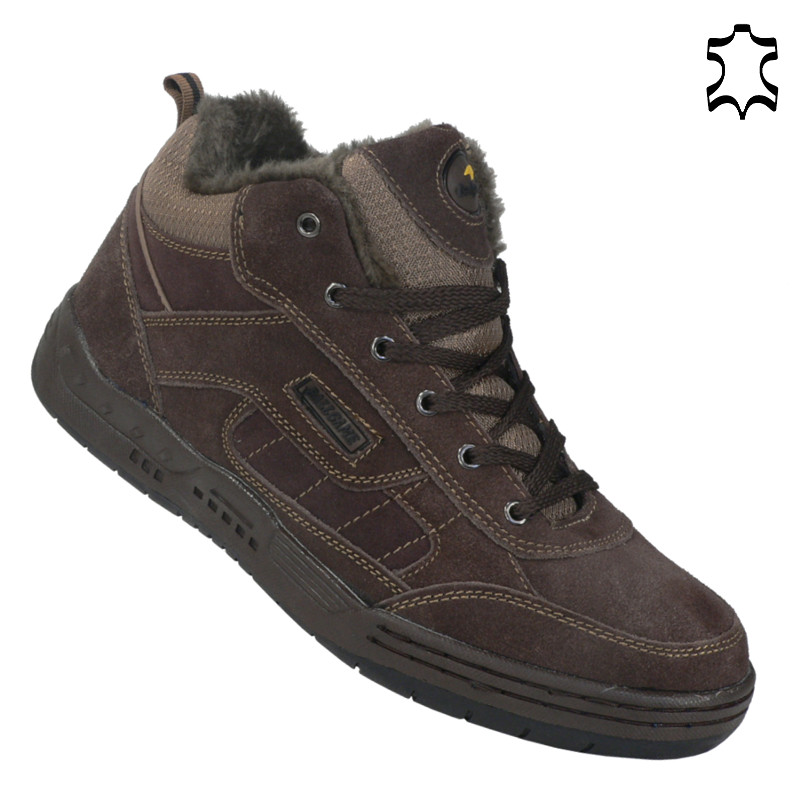 herren trekking schuhe wanderschuhe sportschuh schn rer outdoor boots leder z106 ebay. Black Bedroom Furniture Sets. Home Design Ideas