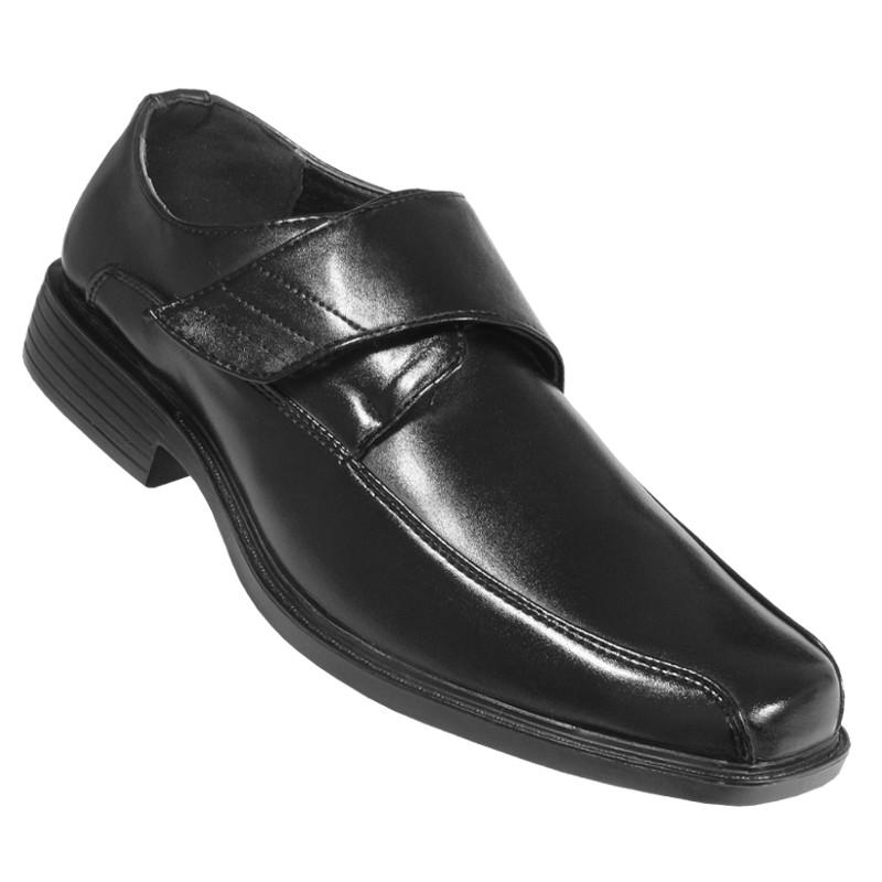 Details zu Herren Anzug Schuh Herren Slipper Klett Schuhe Halbschuh L15 Gr.